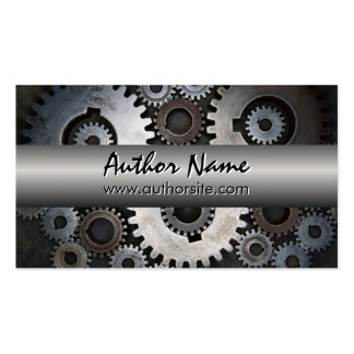 Steampunk II Author Business Card