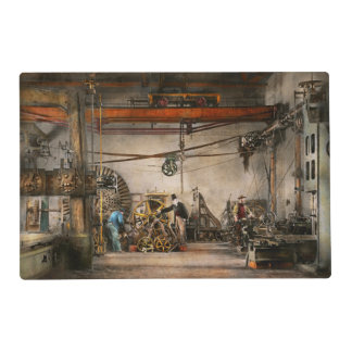 Steampunk - In an old clock shop 1866 Placemat