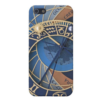 Steampunk in Blue Astronomical Clock iPhone SE/5/5s Cover