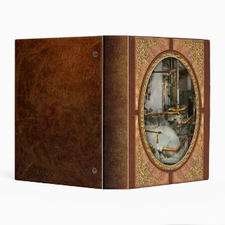 Steampunk - In the engine room Mini Binder