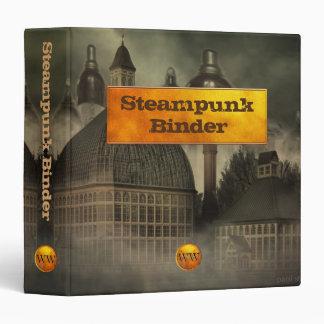Steampunk Industrial Fantasy Architecture 3 Ring Binder