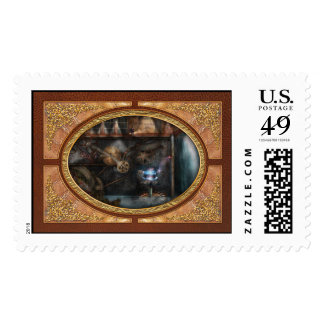 Steampunk - Industrial Society Stamp