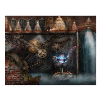 Steampunk - Industrial Society Postcard
