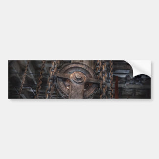 Steampunk - Industrial Strength Bumper Sticker