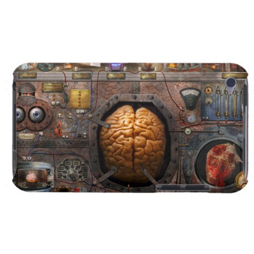 Steampunk - Information overload Barely There iPod Cover