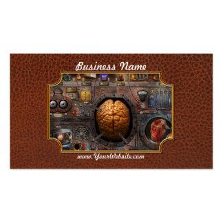 Steampunk - Information overload Business Card