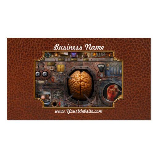 Steampunk - Information overload Double-Sided Standard Business Cards (Pack Of 100)