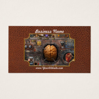 Steampunk - Information overload Business Card