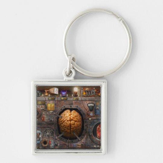 Steampunk - Information overload Keychain