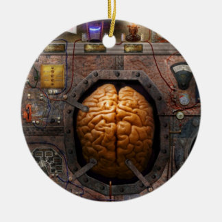 Steampunk - Information overload Ornaments
