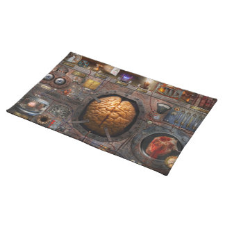 Steampunk - Information overload Placemat