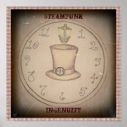 Steampunk Ingenuity Print