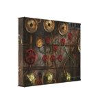 Steampunk - inquietudes del trabajo lona estirada galerias