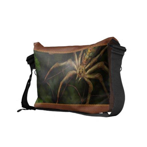 Steampunk - Insect - Arachnia Automata Courier Bags