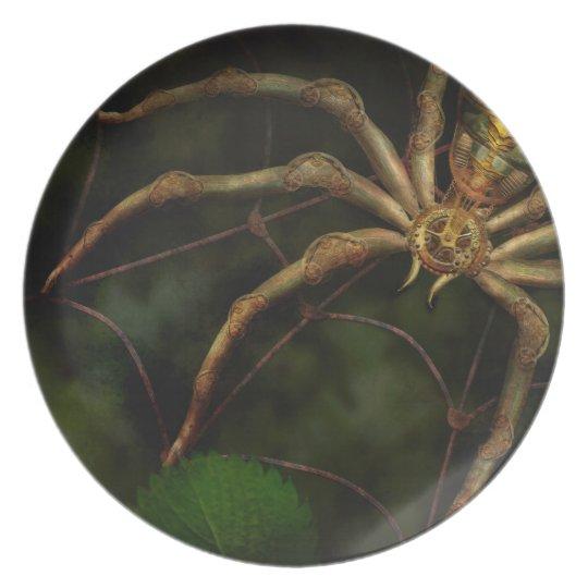 Steampunk - Insect - Arachnia Automata Dinner Plate