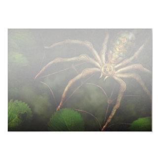 Steampunk - Insect - Arachnia Automata 5x7 Paper Invitation Card