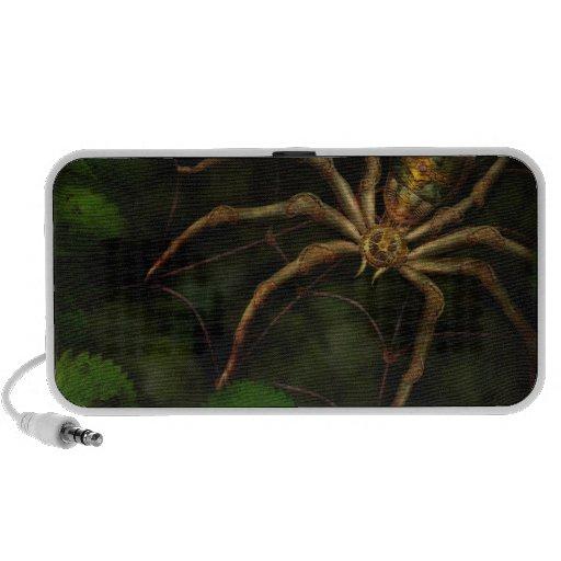 Steampunk - Insect - Arachnia Automata Laptop Speaker