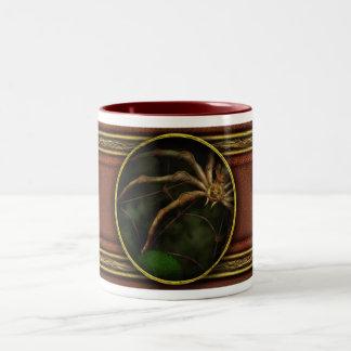 Steampunk - Insect - Arachnia Automata Two-Tone Coffee Mug
