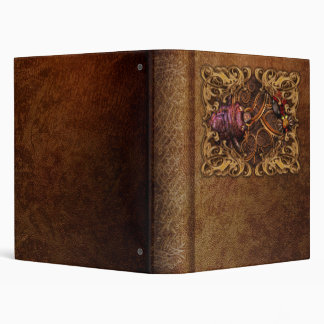 Steampunk - Insect - Itsy bitsy spiders Vinyl Binder