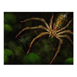 Steampunk - insecto - autómatas de Arachnia Postales