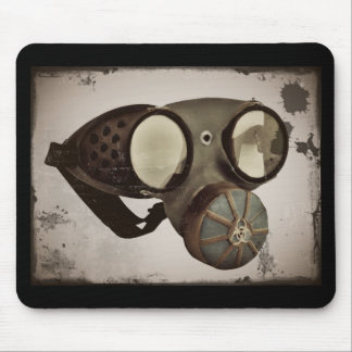 Steampunk Inspired Goggles Mouse Pad