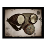 Steampunk Inspired Goggles Postcard