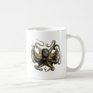 Steampunk Inspired Octopus Coffee Mug