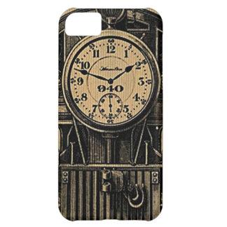 Steampunk inspiró la caja de reloj del vintage funda para iPhone 5C