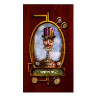 Steampunk - Integrated Business Card