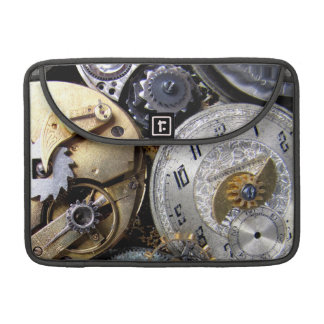 Steampunk Ipad Sleeve Case with Gears