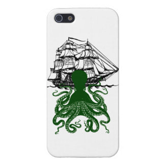 Steampunk iphone5 Kraken Attack Octopus case