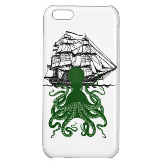 Steampunk iphone5 Kraken Attack Octopus case Cover For iPhone 5C