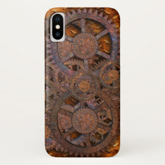 Steampunk iPhone X Case