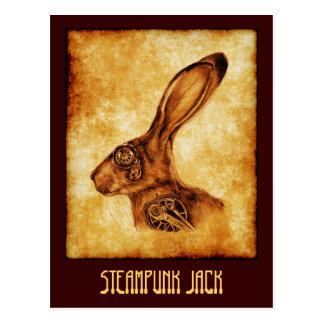 STEAMPUNK JACK POSTCARD