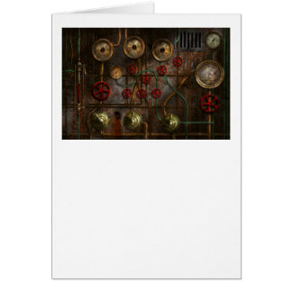 Steampunk - Job jitters Card