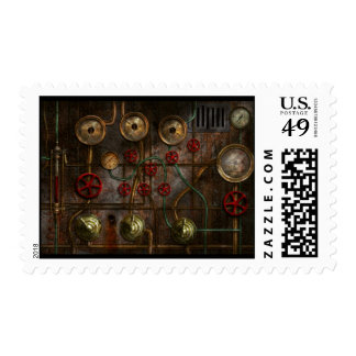 Steampunk - Job jitters Postage Stamps