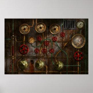 Steampunk - Job jitters Poster
