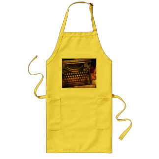 Steampunk - Just an ordinary typewriter Long Apron