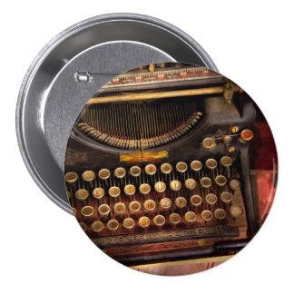 Steampunk - Just an ordinary typewriter Pin