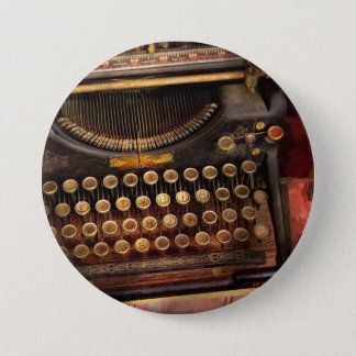 Steampunk - Just an ordinary typewriter Pinback Button