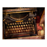 Steampunk - Just an ordinary typewriter Post Card