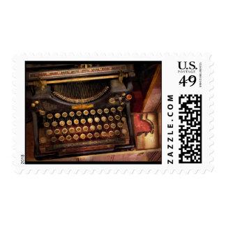 Steampunk - Just an ordinary typewriter Postage Stamp