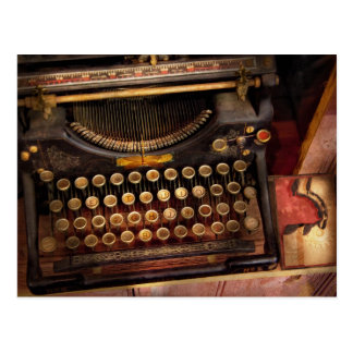 Steampunk - Just an ordinary typewriter Postcard