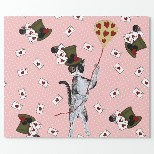 Steampunk Kitty Wrapping Paper