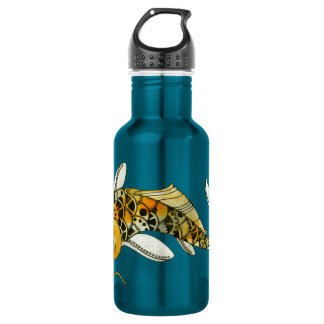 Steampunk Koi 18oz Water Bottle