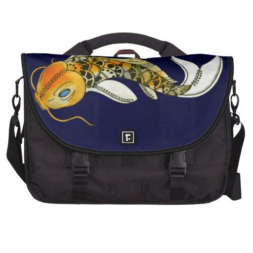 Steampunk Koi Commuter Bag