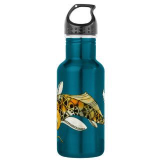 Steampunk Koi Stainless Steel Water Bottle