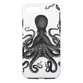 Steampunk Kraken duro - pulpo del Victorian Funda iPhone 7