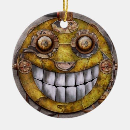Steampunk - la alegría de la tecnología ornamentos de navidad