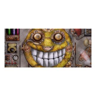 Steampunk - la alegría de la tecnología tarjeta publicitaria personalizada